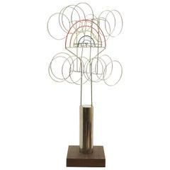Joseph Burlini Kinetic Sculpture