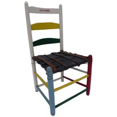 Folk Art Belt Chair