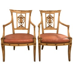 Pair of Armchairs by Maison Jansen