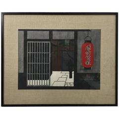 Kiyoshi Saito Limited Edition Japanese Woodblock Print