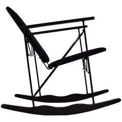 Experiment Rocking Chair by Yrjö Kukkapuro for Avarte Mid Century Modern