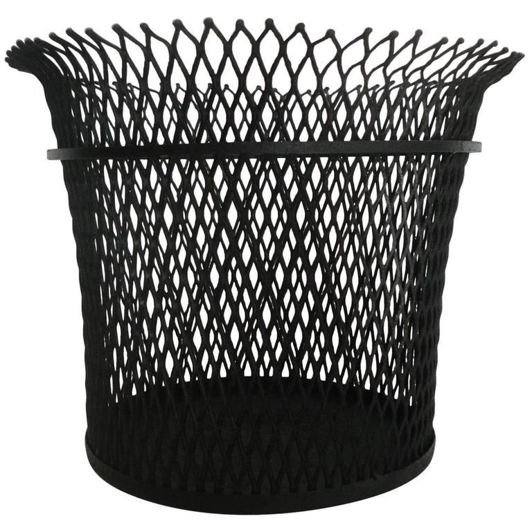Wastepaper Basket documented wastepaper basketmathieu mategot, 1951 for sale at