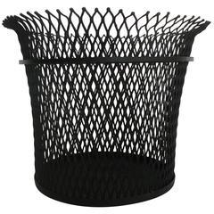 Documented Wastepaper Basket by Mathieu Mategot, 1951