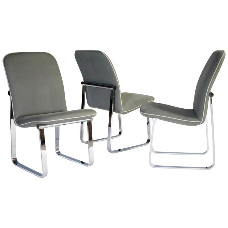 Design Institute of America Dining Chairs, Set of Three