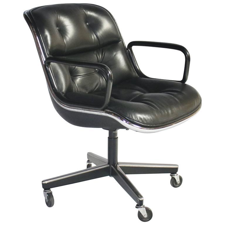 Charles Pollock for Knoll Executive Armchair 1