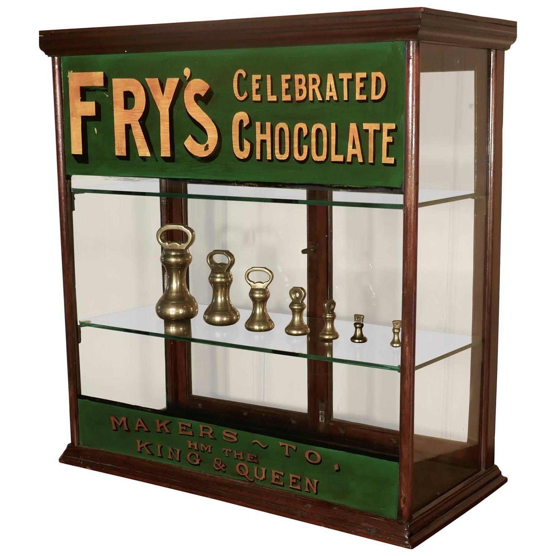 Victorian Counter Top Shop Display Cabinet, Sweet Shop