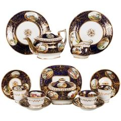 Early 19th Century Part Tea Service