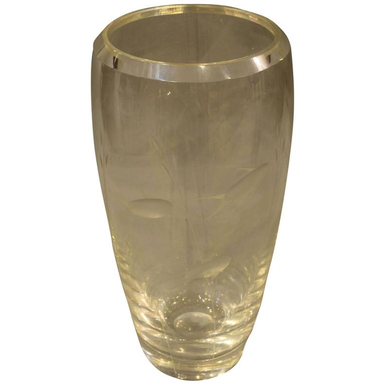 Early 20th Century Glass Vase