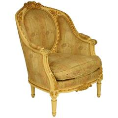 Gilded Carver Chair