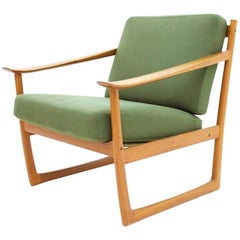 Peter Hvidt & Orla Molgaard Nielsen Teal Lounge Chair, Dänemark 1961