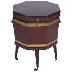 Mahogany Wine Cooler, English, Late 18th Century