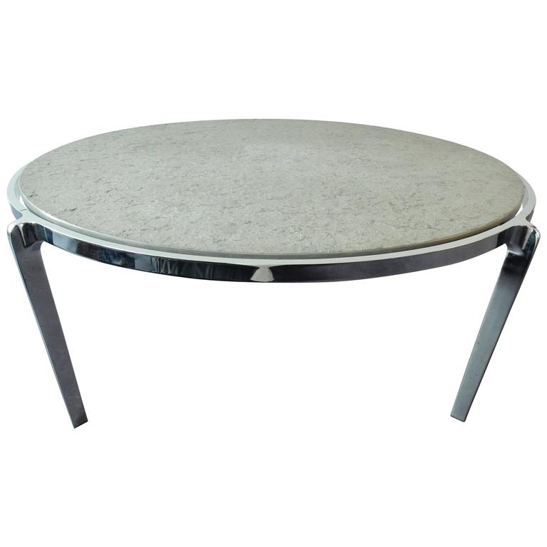 Stone Frame Coffee Table