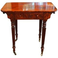 Fine 19th Century Mahogany Side Table