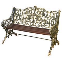 Cast Iron Garden Seat
