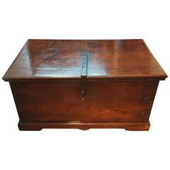 Antique Teak Colonial Chest