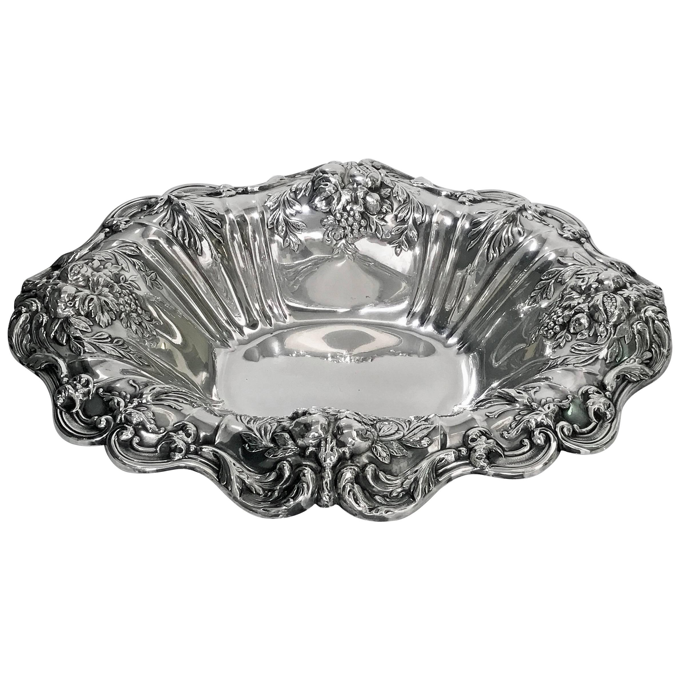 Reed & Barton Francis Sterling Silver Large Dish, 1955