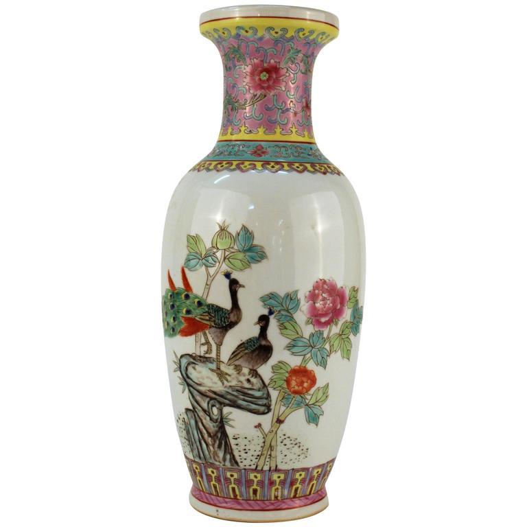 Rose Famille Vase For Sale At 1stdibs