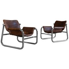 """""""Alpha"""" Lounge Chairs by Maurice Burke for Pozza"""