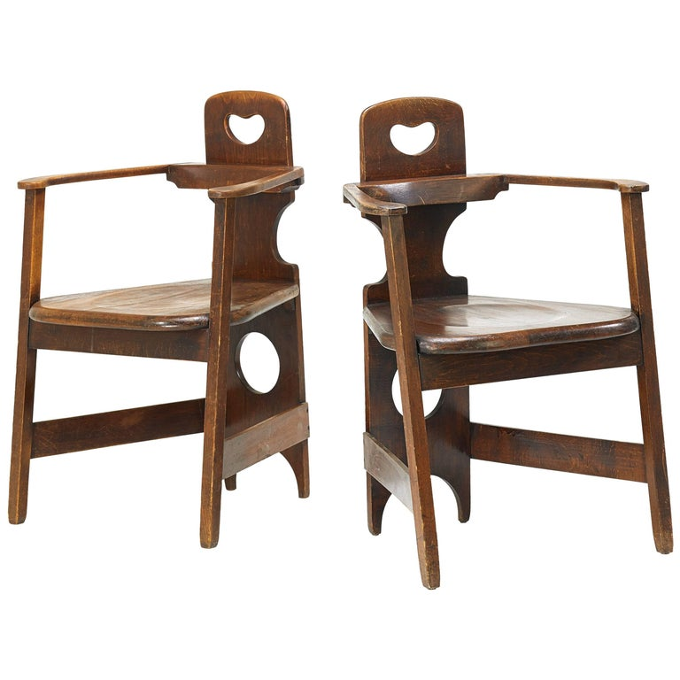 Pair of Jugendstil Armchairs by Richard Riemerschmid For Sale