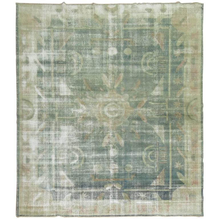 Shabby chic turkish deco zeki muren rug for sale at 1stdibs for Deco murale shabby chic