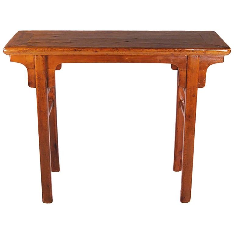 Chinese Cypress Altar Table