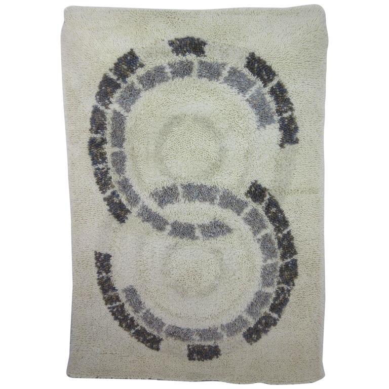 "Ege Axminster ""Circles"" Wool Rug At 1stdibs"