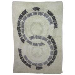 "Ege Axminster ""Circles"" Wool Rug"