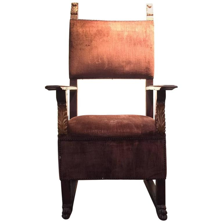 18th Century Spanish Colonial Hall Chair 1