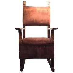18th Century Spanish Colonial Hall Chair