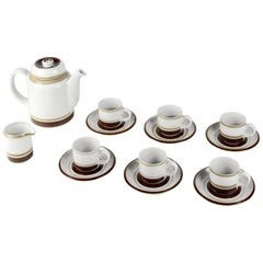 Complete Coffee Set 'Pirtti' by Raija Uosikkinen for Arabia Finland, 1970