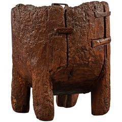 Grand Antique Chestnut Mortar