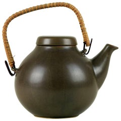 Large GA3 Teapot by Ulla Procopé for Arabia Finland, Mid-Century