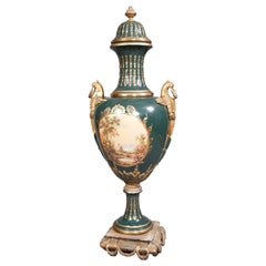 2 Majesatical Sevre Vase in 18th Century Style, Paris