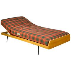 German Daybed with Slant Legs, 1950s