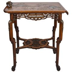 19th Century Viardot Stamped Table