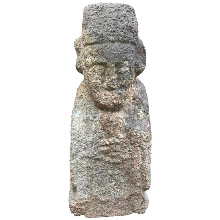 Korea ancient stone guardian figure early joseon dynasty