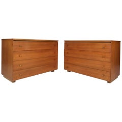 Pair of Mid-Century Modern Chests by Paul McCobb for Calvin