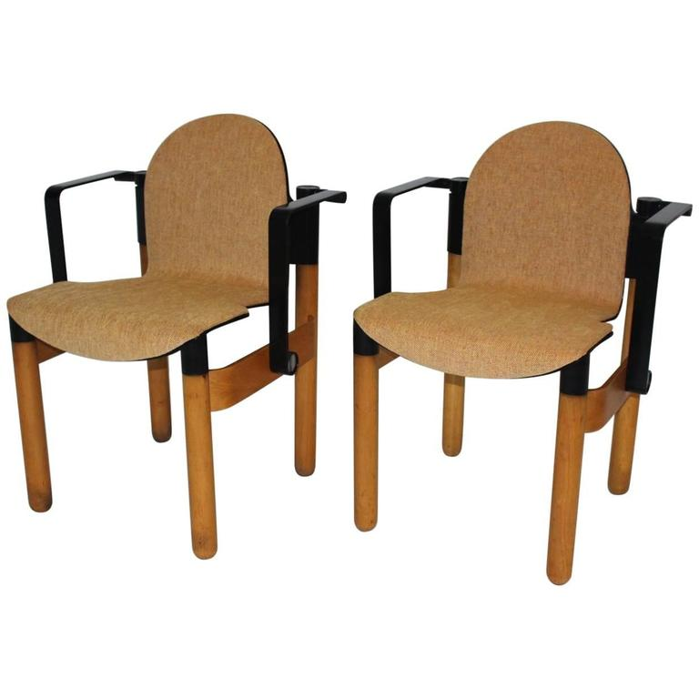 Pair of Armchairs Designed by Gerd Lange, 1973, Germany