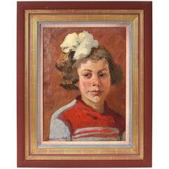 Ukrainian Oil on Canvas Portrait