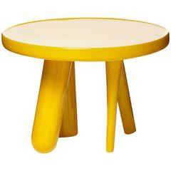 Moooi Elements 002 Table by Jaime Hayon in Yellow, Light Grey or Dark Grey