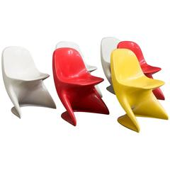 1977 Alexander Begge for Casala, Germany, Casalino Child Chairs