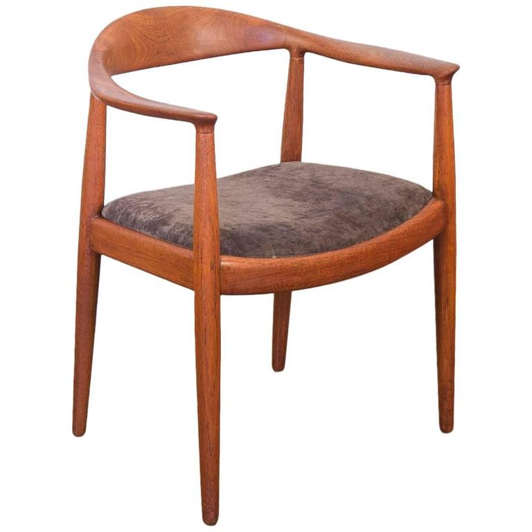 Round Chairs For Sale: Hans J Wegner Round Chair For Sale At 1stdibs