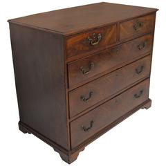 Mahogany Bachelors Chest of Drawers, English, 19th Century