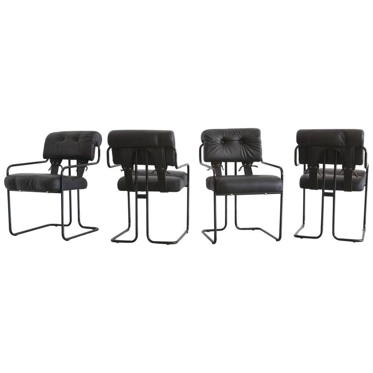 Set of Four Pace Tucroma Chairs 1