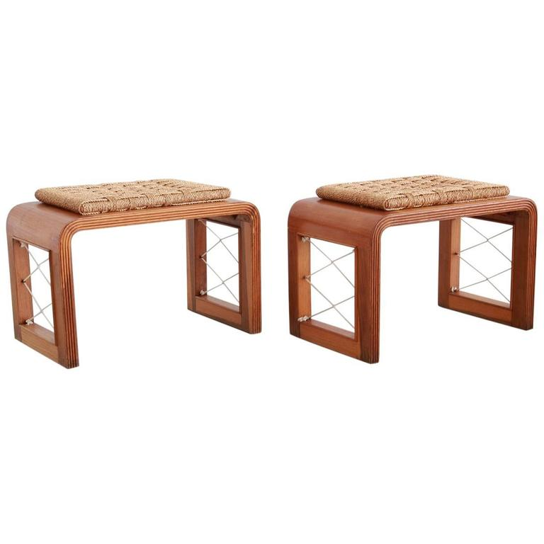 Royere Style Stools For Sale