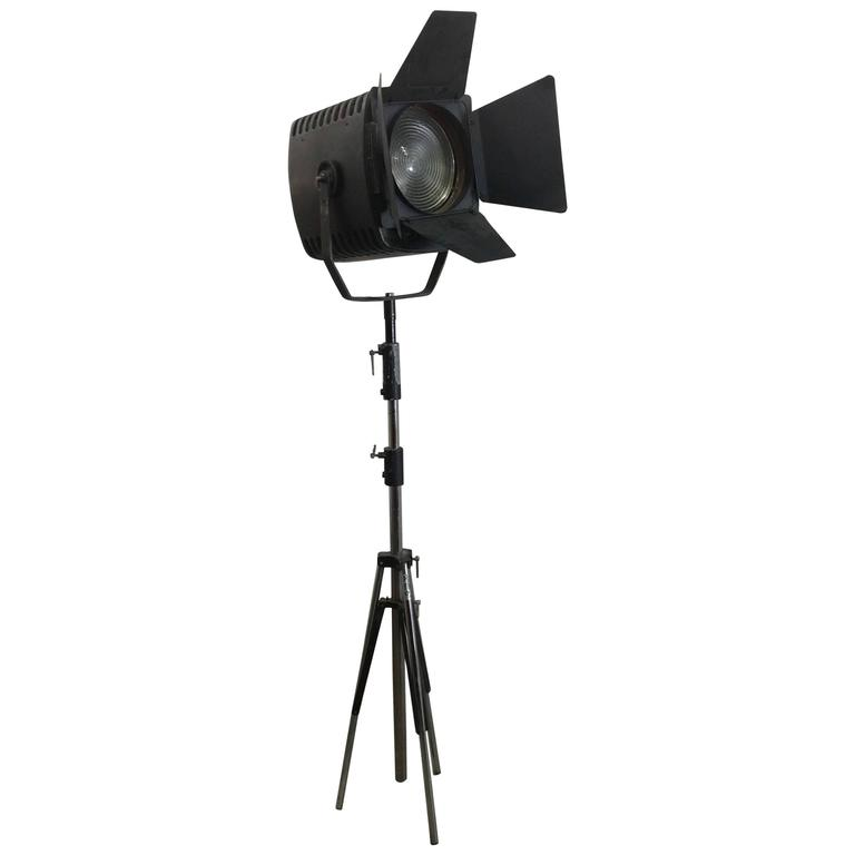 Vintage Theatre Light From Rank Film Equipment On