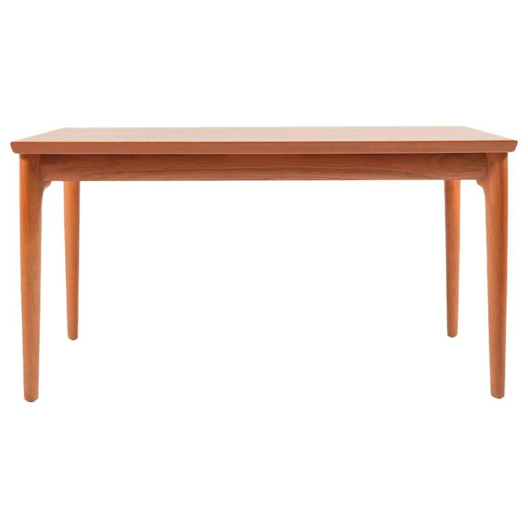 Rare Teak Dining Table by Henning Kjaernulf