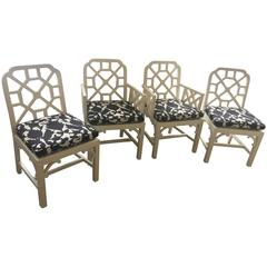 Chinese Chippendale Style Chairs