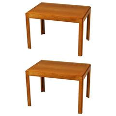 1960s, Børge Mogensen Model 5383 Oak Side Tables