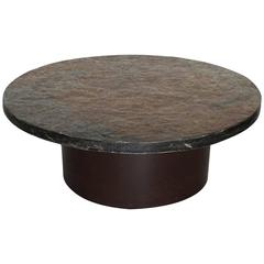 Brutalist Stone Coffee Table in the Style of Paul Kingma, 1960s